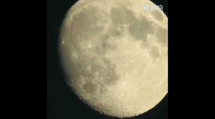尼康P900拍月亮