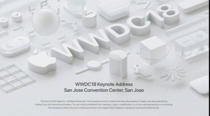 Apple WWDC 2018 完整版